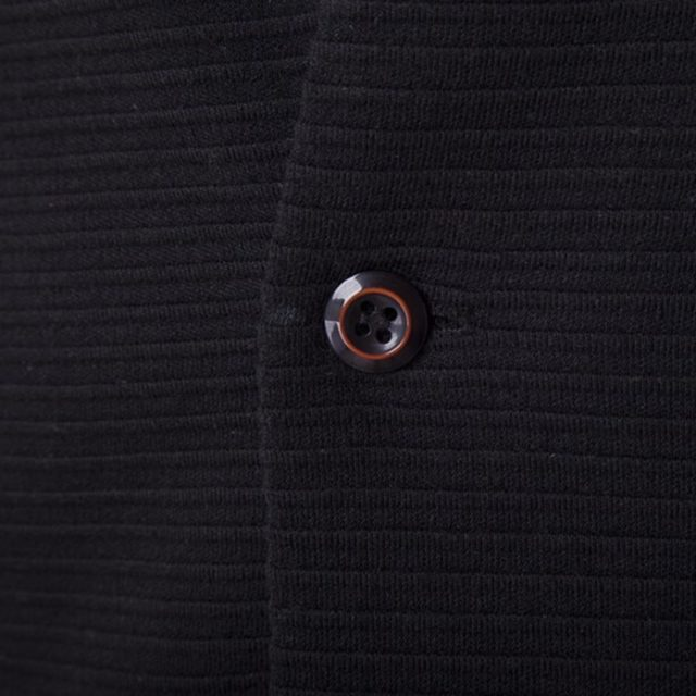 Men's Cotton Blazer in Black Color