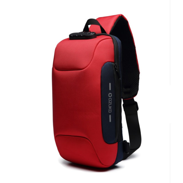 Men's Multifunction Crossbody Bag